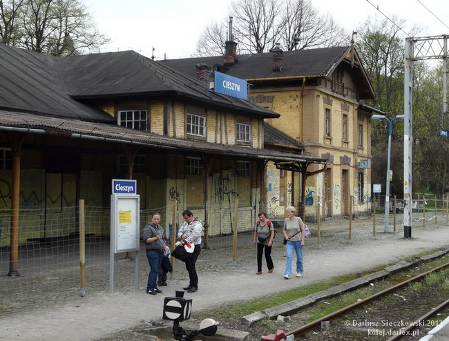 Dworzec w Cieszynie