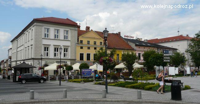 Wadowice - domy przy Rynku