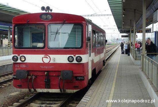 Pociąg Preszów - Bardziejów