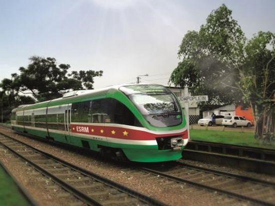 Surinam pociąg