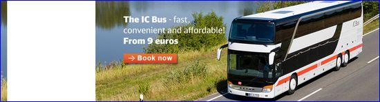 Nowe połączenia IC Bus Deutsche Bahn