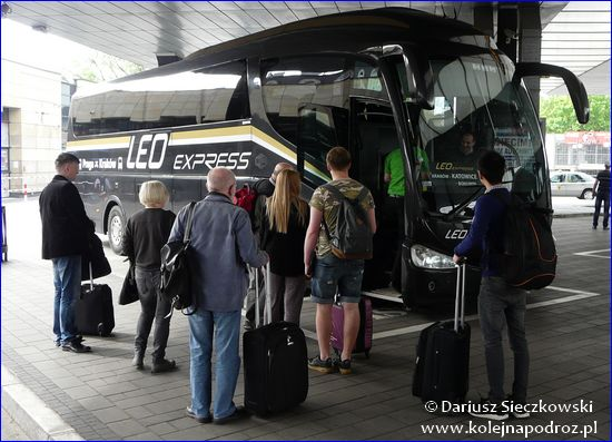 Leo Express - autobus w Krakowie