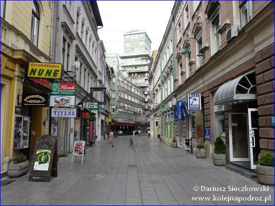 Sarajewo - deptak