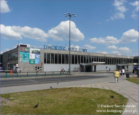Olsztyn - dworzec kolejowy