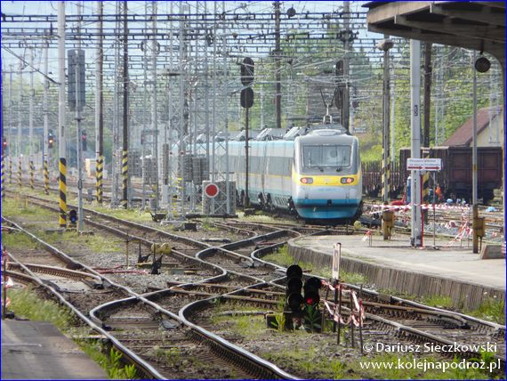 Pendolino jako pociąg relacji Praga - Koszyce