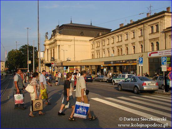 Brno hlavní nádraží - dworzec w 2006 roku
