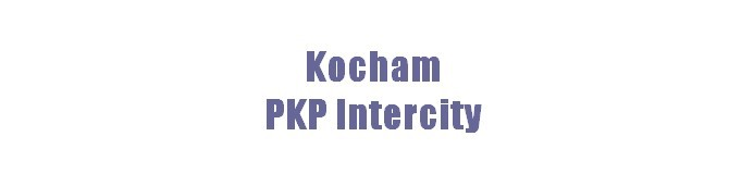 Kocham PKP Intercity – nowy projekt