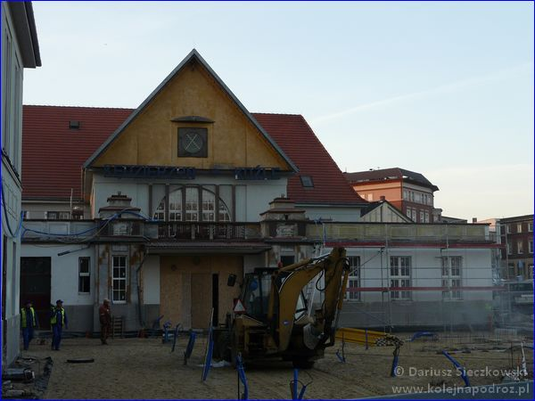 Kędzierzyn-Koźle - remont placu przed dworcem