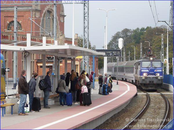 Opole Główne - peron 4