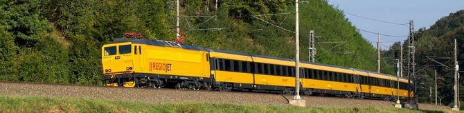 RegioJet z wagonami sypialnymi