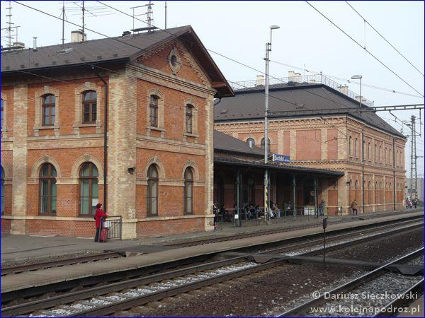 Suchdol nad Odrou - dworzec