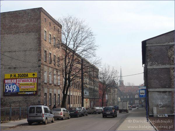 Świętochłowice - ulica Dworcowa