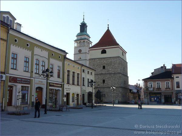 Żywiec - dzwonnica i wieża konkatedry