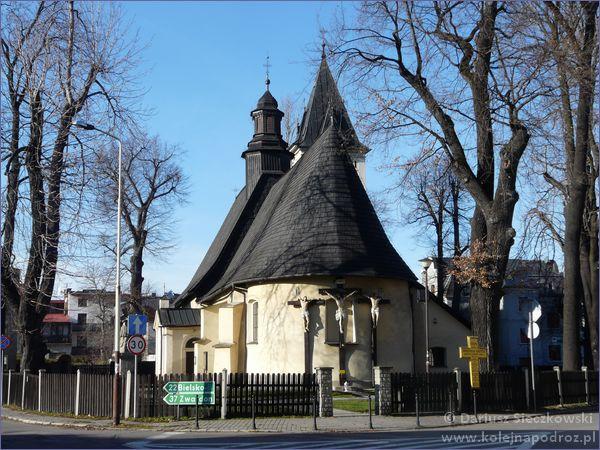 Żywiec - kościół św. Krzyża