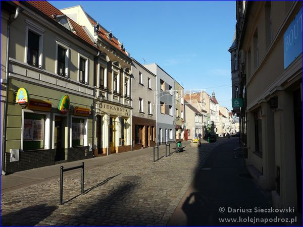 Kościan - ulica Wrocławska