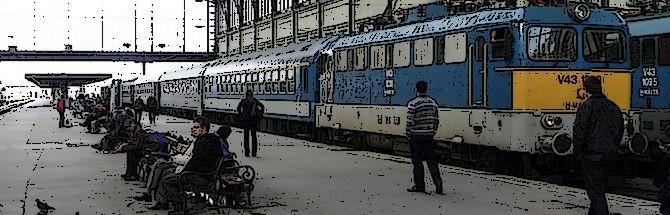 Pociąg Budapeszt-Sofia w 2016 roku