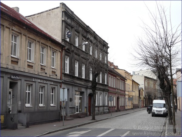 Ostrów Wielkopolski - ulica Gimnazjalna
