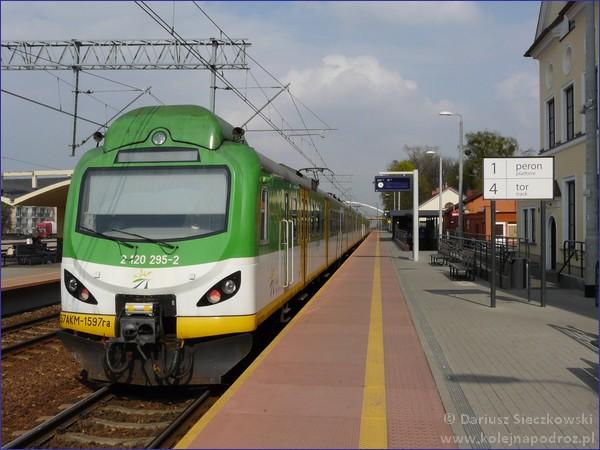 Grodzisk Mazowiecki - peron 1