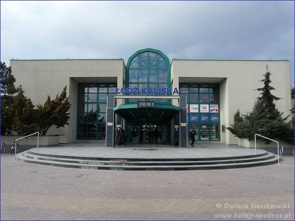 Łódź Kaliska - budynek dworca