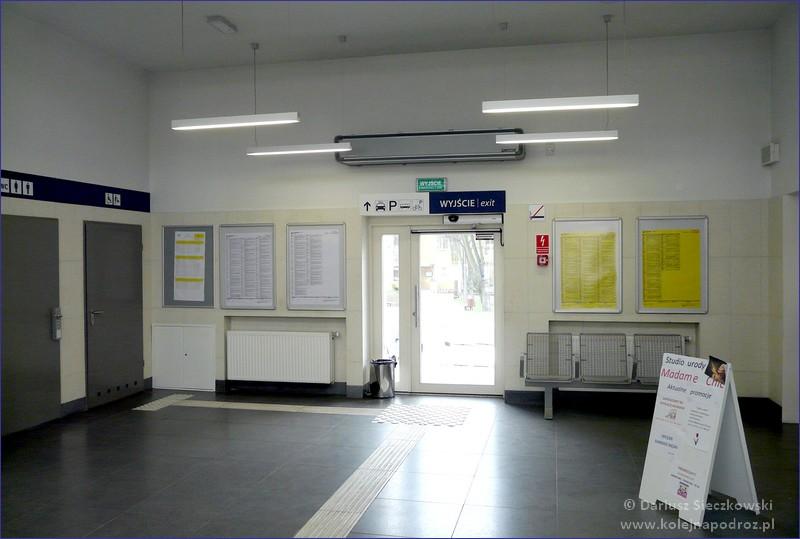 Wnętrze dworca