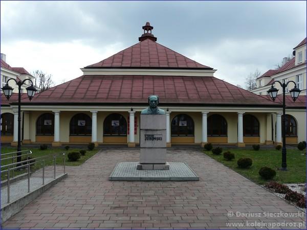 Zgierz - pomnik Żeromskiego