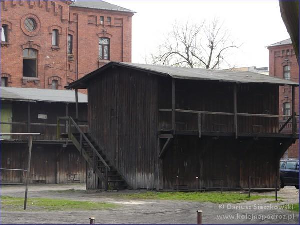 Żyrardów - budynki gospodarcze