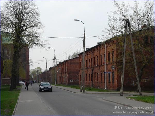 Żyrardów - ulica Wyszyńskiego