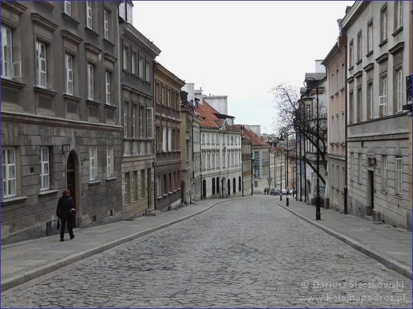 Warszawa - ulica Mostowa