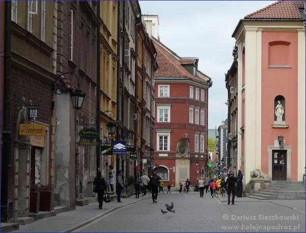 Warszawa - ulica Świętojańska