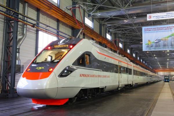 Pociąg Tarpan kolei ukraińskich (źródło: materiały prasowe)