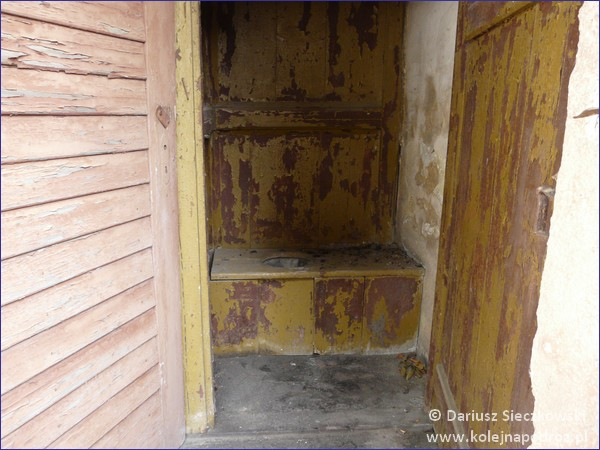 Krzewina Zgorzelecka - toaleta