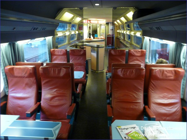 Thalys - wagon barowy
