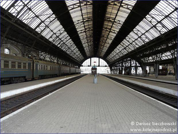 Lwów - peron 4