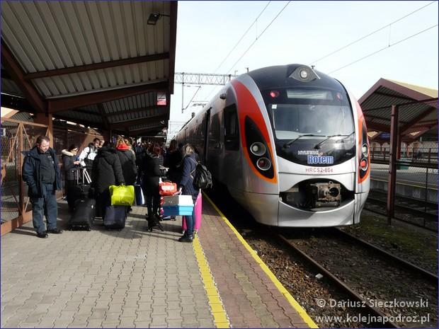 Przemyśl Główny - peron 4