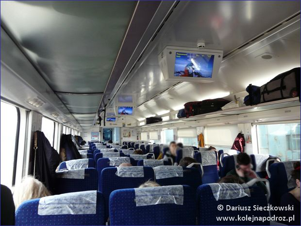 Pociąg Przemyśl - Kijów - II klasa