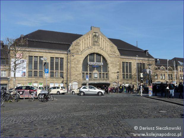 Bielefeld - dworzec kolejowy