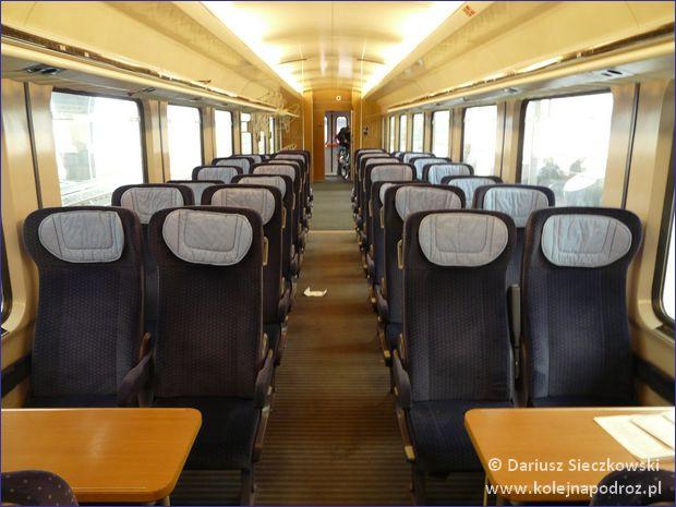 Deutsche Bahn - pociąg Intercity
