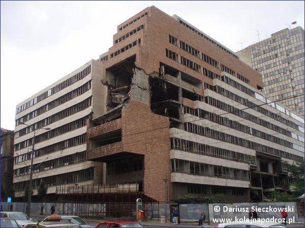 Belgrad - zbombardowany budynek