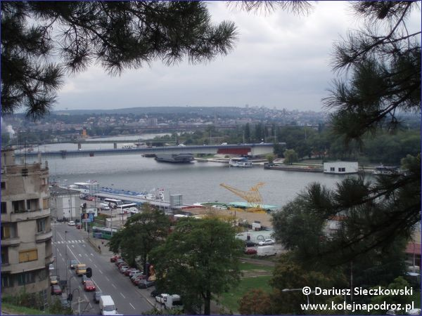 Widok na Belgrad